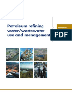 Petroleum refining water/wastewater use and management