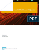 How to Efficiently Prune SAP NetWeaver BW Queries