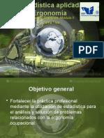 Estadística Aplicada a La Ergonomía_Apuntes de clase