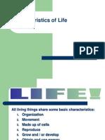 Characteristics of Life. PP PDF(1)
