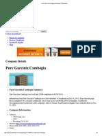 Pure Garcinia Cambogia Reviews Scambook