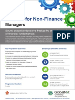 Finance for Non Finance Managers - GlobalNxt University