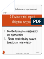Eia Chapter 7.1 Mitigation Measures