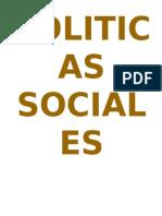 POLITICAS SOCIALES peru