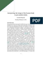Human Body Pre Modern India