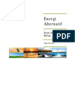 alternative energy from and for human