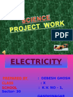 Electricity by Debesh