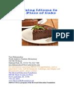Idioms Cake