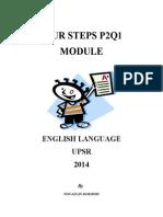 Four Steps To Sentence Construction- UPSR