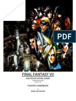 Final Fantasy VII - Player's Handbook