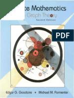 Edgar G. Goodaire, Michael M. Parmenter, Edgar G Goodaire, Michael M Parmenter-Discrete Mathematics With Graph Theory -Prentice Hall (2001)