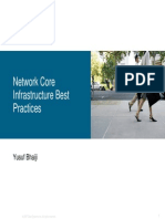 Network Core Infrastructure Best Practices