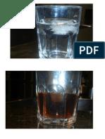 Experimento aceite y agua I