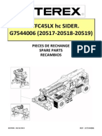 SPARE PARTS MANUAL TFC45LX hc SIDER.__G7544006 (20517-20518-20519)