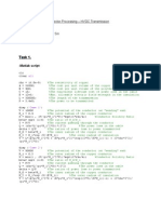 Vector Processing Matlab