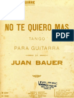 Bauer-Iparraguirre No Te Quiero Mas