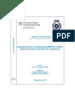 Implantación de La Metodología BPM