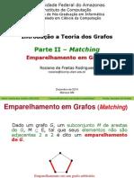 Teoria dos Grafos - Emparelhamento e Matching