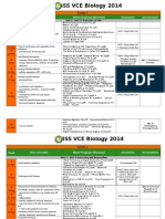 EBSS VCE Biology Course Outline 2014 GTAC Revised