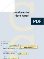 Lecture 3 Data Types 1