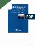 Minimización Manejo Ambiental de Los Residuos Solidos