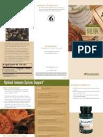 Reishi Max Trifold Brochure