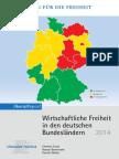 Wirtschaftsfreiheit in den deutschen Bundesländern 2014