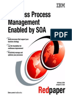 Business Process Management Enabled by SOA