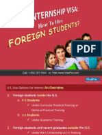 Internships In USA For International Students