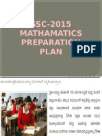maths preparation plan- 2015