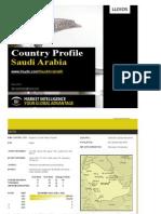 Saudi Country Profile