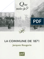 La Commune de 1871 - Rougerie Jacques