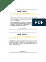 7- Audit Interne Une Pratique Au Service de La Dynamique Qualite - Pr P- TRIADOU-2