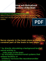 Behavioral and Motivational Mechanism of the Brain