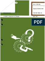 B200 B230 fault tracing