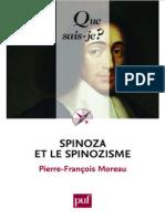 Spinoza Et Le Spinozisme - Moreau Pierre-Francois