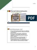 Social Determinants 2014 Soors