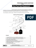 Oxy Aceylene Equipment