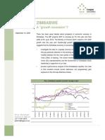 Zimbabwe_ a Growth Recession