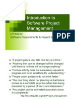 software project management into