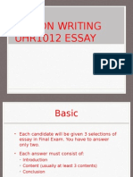Essay Tips Anythings