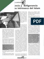 La intolerancia y beligerancia anticristiana del Islam. José María Permuy