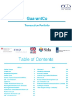 GuarantCo Portfolio Presentation - Limited Release May 2014