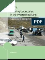 Drawing Boundaries in the Western Balkans