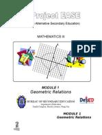 Module 1 - Geometric Relations