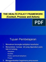 Bab i the Health Policy Framework