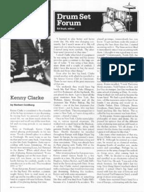 Kenny Clarke | Drum Kit | Popular Music