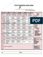Extc Even Sem 15 - Time Table