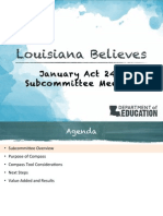 LDOE Accountability Commission Report - January 5 2015