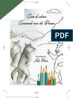 Carte de colorat. Carnivorele mari din Vrancea (Iulia Olariu)